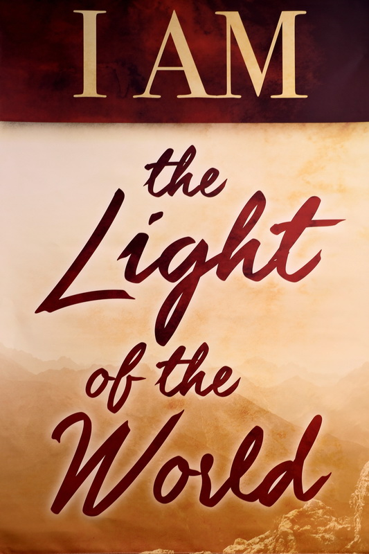 Poster I am the light of the world